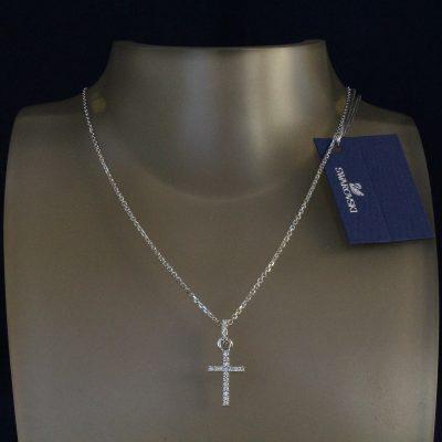 Κολιέ Mini Cross κόσμημα Swarovski