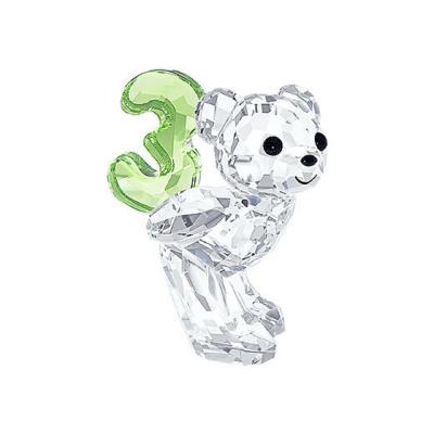 kris Bear Number three Swarovski characters
