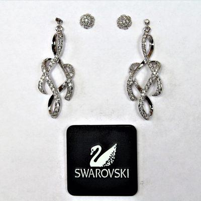 Σκουλαρίκια LIGHTNESS κόσμημα Swarovski