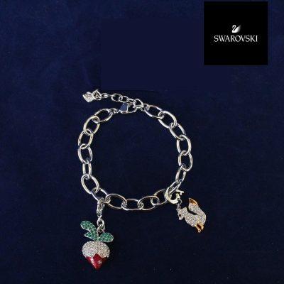 Charm Bracelet Swarovski 1057717 Small Radish Fox