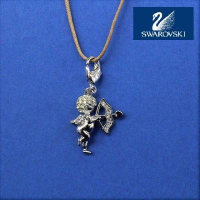 Cupid Angel Charm κόσμημα Swarovski