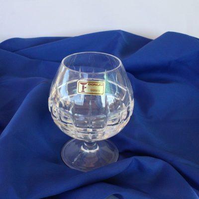 Ποτήρια Κονιάκ χειροποίητα κρυστάλλινα Ιταλίας