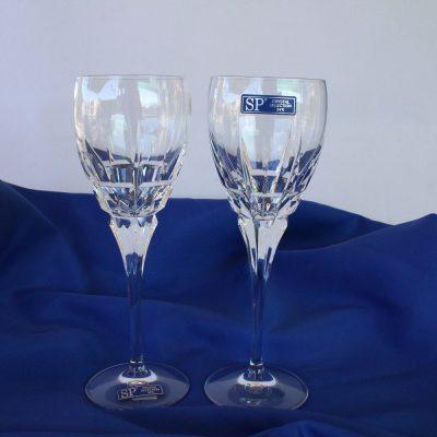 Ποτήρια Κρασιού χειροποίητα κρυστάλλινα Ιταλίας Σχέδιο620