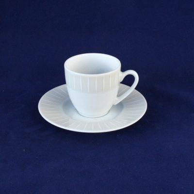 Εκρού σετ6 φλιτζανάκια του καφέ WINTERLING