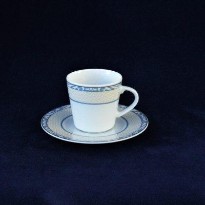 Σετ5 Φλιτζανάκια του καφέ Γκρι-σιελ WINTERLING με πιατάκι