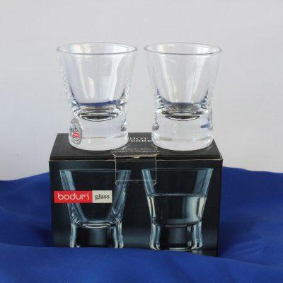 Ποτήρια Σφηνάκια κρυστάλλινα BODUM σετ6 τεμαχίων