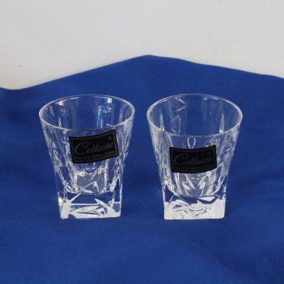 Ποτήρια σφηνάκια κρυστάλλινα CELLESTE σειρά ICE