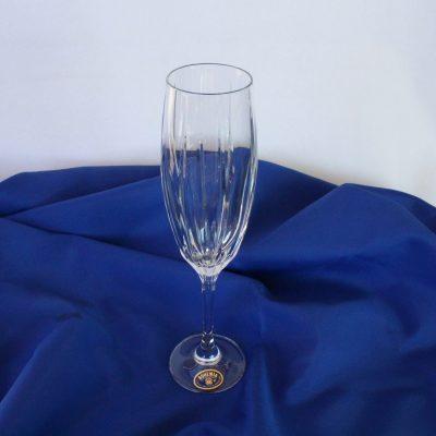 Ποτήρι Ούζου-Σαμπάνιας Κρύσταλλο BOHEMIA Σχέδιο Adele 600