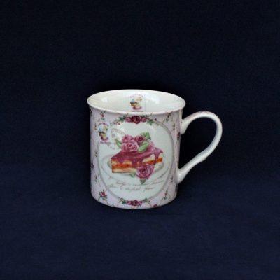 Κούπα πορσελάνης Ροζ Γλυκό από τη σειρά' Nostalgie'